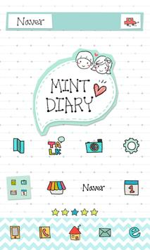 Mintdiary dodol launcher theme poster