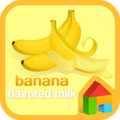 Banana dodol launcher theme icon