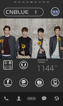 CNBLUE dodol launcher theme poster