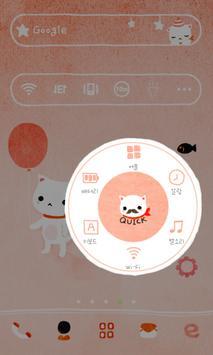 BalloonCat dodol launchr theme apk screenshot