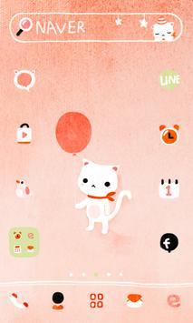 BalloonCat dodol launchr theme poster