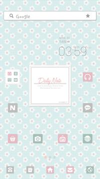 DailyNote dodol launcher theme poster