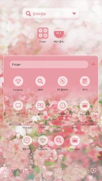 ItIs Spring DodolLauncherTheme apk screenshot