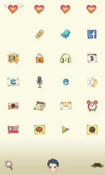 dodol love launcher theme apk screenshot