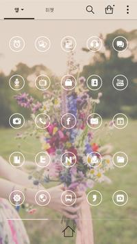 Precious Dodol launcher theme apk screenshot