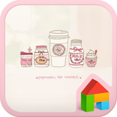 SweetPink dodol launcher theme icon