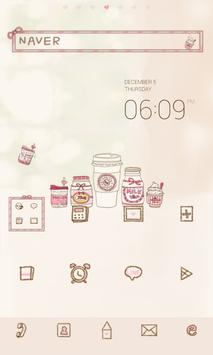 SweetPink dodol launcher theme poster