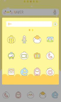 CHICK dodol launcher theme apk screenshot