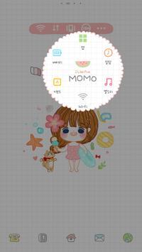 MOMO dodol luancher theme apk screenshot
