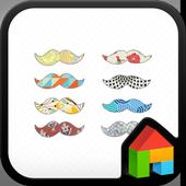 moustache dodol launcher theme icon