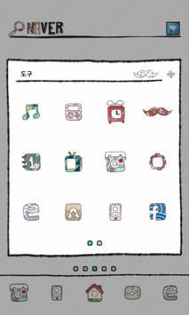 moustache dodol launcher theme apk screenshot