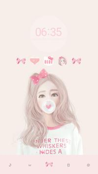 Bubblegum DodolLauncherTheme apk screenshot