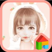 nana rabbit DodolLauncherTheme icon