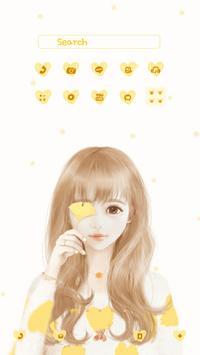 nana yellow DodolLauncherTheme poster