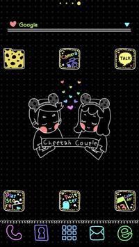 Cheetah dodol launcher theme poster