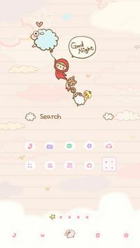 Goodnight Dodol launcher theme poster