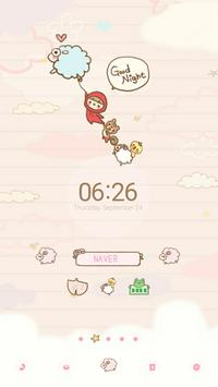Goodnight Dodol launcher theme apk screenshot