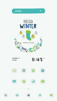 HelloWinter DodolLauncherTheme poster