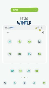 HelloWinter DodolLauncherTheme screenshot 1
