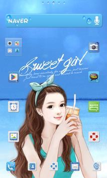 스위트걸 sunshine beach 도돌런처 테마 poster