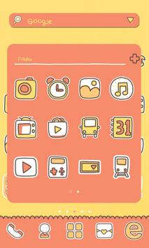 Where LUV dodol launcher theme screenshot 1