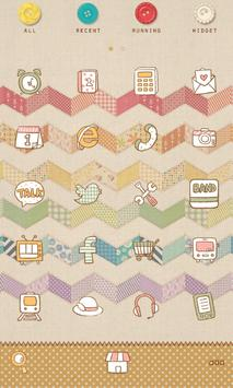 zigzag Dodol launcher theme apk screenshot
