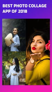 Photo Collage & layout Maker For Instagram poster