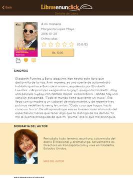 Libros en un Click apk screenshot