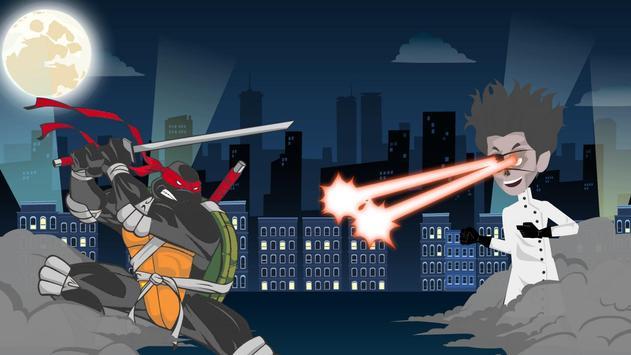 Rush of turtle Ninja runner screenshot 3
