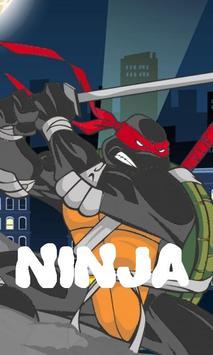 Rush of turtle Ninja runner screenshot 1