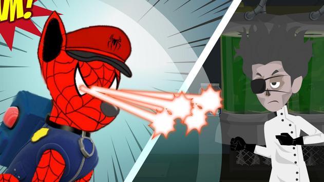 Patrol the spider Paw apk screenshot