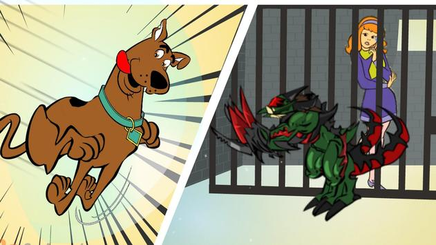 Scooby runner helps Daphne apk screenshot