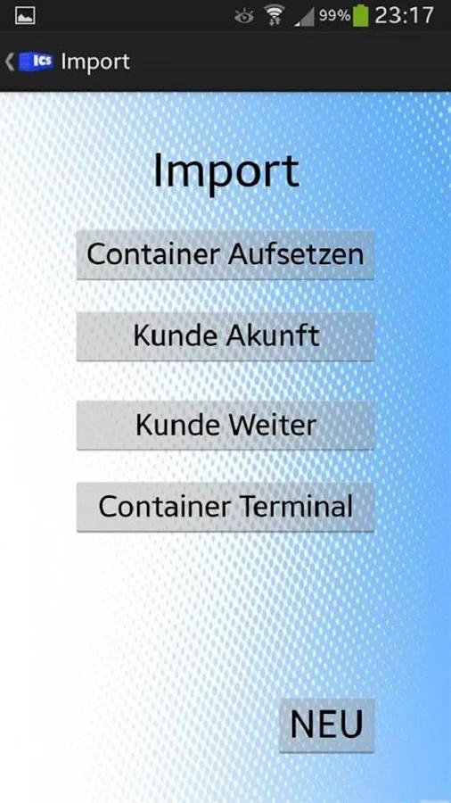ICS Container poster