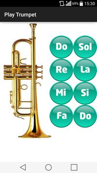 Play trumpet poster