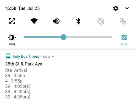 Indy Bus Real Time Map screenshot 3