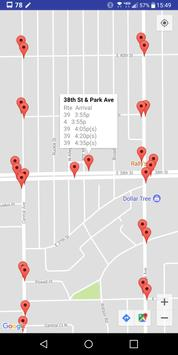Indy Bus Real Time Map screenshot 2