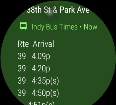 Indy Bus Real Time Map screenshot 5