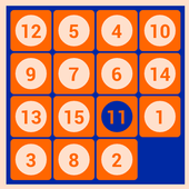 Number Fantasy Game 15-Puzzle icon