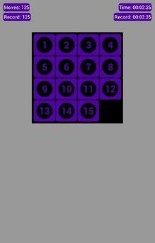Number Fantasy Game 15-Puzzle screenshot 10