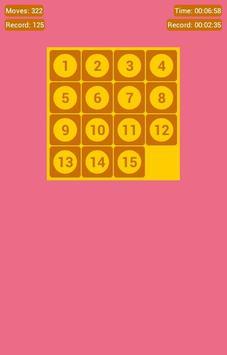 Number Fantasy Game 15-Puzzle screenshot 11