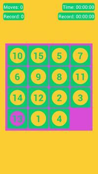 Number Fantasy Game 15-Puzzle screenshot 1