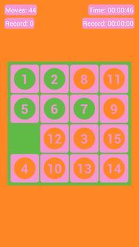 Number Fantasy Game 15-Puzzle screenshot 2