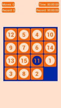Number Fantasy Game 15-Puzzle screenshot 3