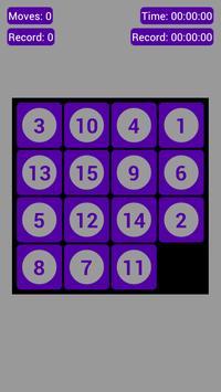 Number Fantasy Game 15-Puzzle screenshot 4