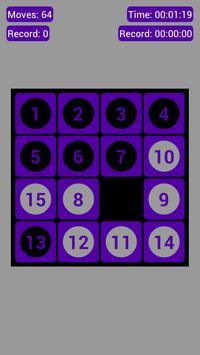 Number Fantasy Game 15-Puzzle screenshot 5