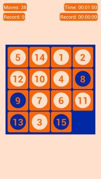 Number Fantasy Game 15-Puzzle screenshot 6
