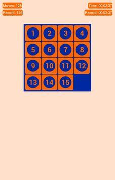 Number Fantasy Game 15-Puzzle screenshot 7