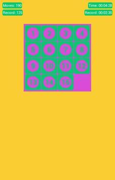Number Fantasy Game 15-Puzzle screenshot 8