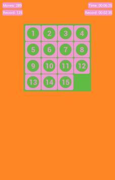 Number Fantasy Game 15-Puzzle screenshot 9