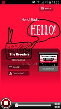 Hello! Radio poster